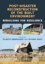 Post-Disaster Reconstruction of the Built Environment