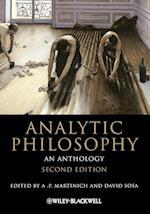 Analytic Philosophy (Blackwell Philosophy Anthologies)