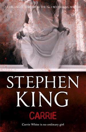 Bog, paperback Carrie af Stephen King