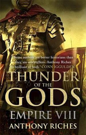 Bog, paperback Thunder of the Gods: Empire VIII af Anthony Riches