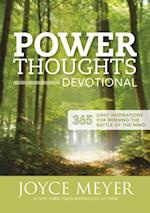 Power Thoughts Devotional af Joyce Meyer