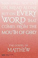 NIV Gospel of Matthew (New International Version)
