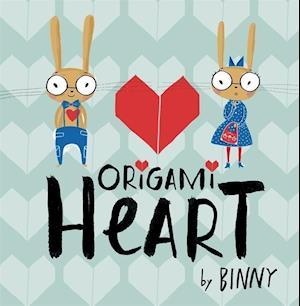 Bog, hardback Origami Heart af Binny