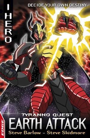 Earth Attack: Tyranno Quest 4 af Steve Barlow