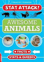EDGE: Stat Attack: Awesome Animals: Facts, Stats and Quizzes (Edge Stat Attack, nr. 1)