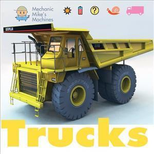 Bog, paperback Mechanic Mike's Machines: Trucks af David West