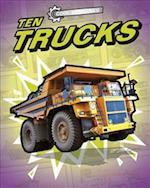 Cool Machines: Ten Trucks (Cool Machines)