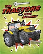 Cool Machines: Ten Tractors and Farm Machines (Cool Machines)