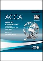 ACCA - P7 Advanced Audit and Assurance (UK & International)