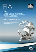 FIA Recording Financial Transactions - FA1 - Kit af Bpp Learning Media