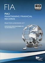 FIA Maintaining Financial Records - FA2 - Kit