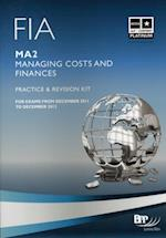 FIA Managing Costs and Finances - MA2 -Kit