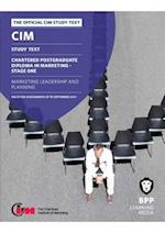 CIM 11 Marketing Leadership and Planning af Bpp Learning Media