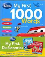 Disney Picture Dictionary & First 1000 Words Books