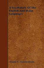 A Vocabulary of the English and Malay Languages af Frank A. Swettenham