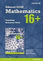 GCSE Mathematics Edexcel 2010: 16+ Teaching Resource Pack af Julie Bolter, Jean Linsky, Kevin Tanner