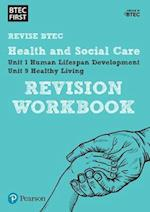BTEC First in Health and Social Care Revision Workbook (BTEC First Health and Social Care)