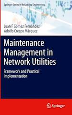 Maintenance Management in Network Utilities (Springer Series in Reliability Engineering)