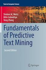Fundamentals of Predictive Text Mining (Texts in Computer Science)