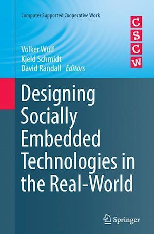 Bog, hæftet Designing Socially Embedded Technologies in the Real-World