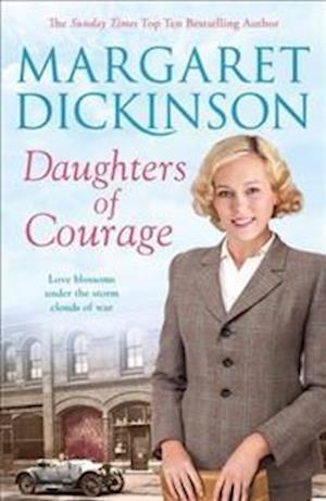 Bog, hardback Daughters of Courage af Margaret Dickinson