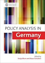 Policy Analysis in Germany af Sonja Blum