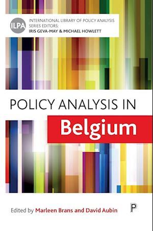 Bog, hardback Policy analysis in Belgium af Marleen Brans