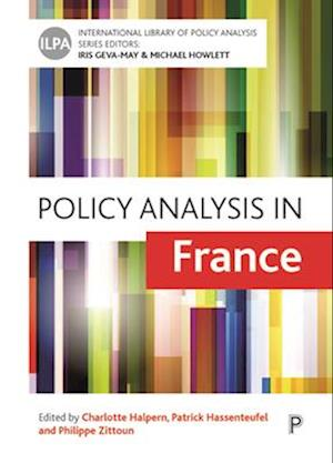 Bog, hardback Policy Analysis in France