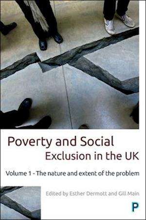 Bog, hardback Poverty and social exclusion in the UK af Esther Dermott