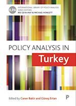 Policy Analysis in Turkey af Caner Bakir