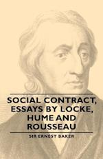 Social Contract, Essays by Locke, Hume and Rousseau af Ernest Baker