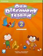 Our Discovery Island American Edition Students' Book with CD-rom 2 Pack af Laura Miller