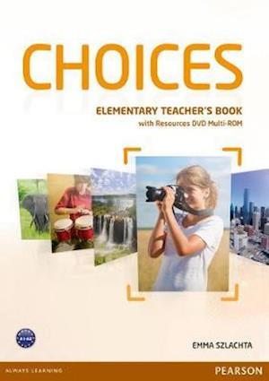 Choices Elementary Teacher's Book & DVD Multi-ROM Pack