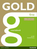 Gold First New Edition Coursebook (Gold)