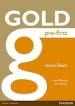 Gold Pre-First Active Teach