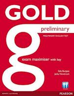 Gold Preliminary Maximiser with Key (Gold)
