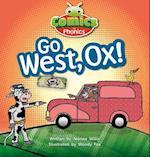 Bug Club Comics for Phonics Set 06 Red A Go West, Ox! (Bug Club)