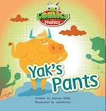 Bug Club Comics for Phonics Set 07 Red A Yak's Pants (Bug Club)