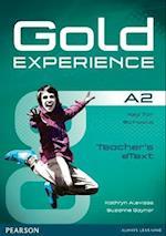 Gold Experience A2 Teacher Etext CD-ROM (Gold)