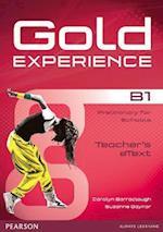 Gold Experience B1 Teacher Etext CD-ROM (Gold)