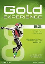 Gold Experience B2 Teacher Etext CD-ROM (Gold)