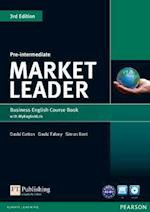 Market Leader 3rd Edition Pre-Intermediate Coursebook with DVD-ROM and MyEnglishLab Student online access code Pack (Market Leader)