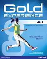 Gold Experience A1 Students' Book with DVD-ROM Pack (Gold)