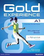 Gold Experience A1 Students' Book with DVD-ROM and MyLab Pack (Gold)