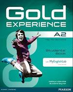 Gold Experience A2 Students' Book with DVD-ROM/MyLab Pack (Gold)