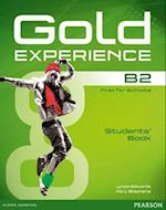 Gold Experience B2 Students' Book and DVD-ROM Pack (Gold)