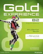 Gold Experience B2 Students' Book with DVD-ROM and MyLab Pack (Gold)