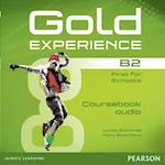 Gold Experience B2 Class Audio CDs (Gold)
