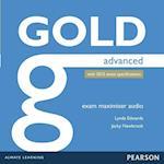 Gold Advanced Exam Maximiser Class Audio CDs (Gold)