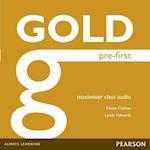 Gold Pre-First Maximiser Class Audio CDs (Gold)